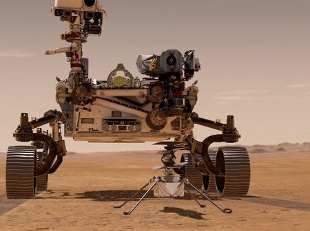 NASA perseverance rover landed safely few hours ago, NASA employees were seen celebrating