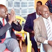 DP Ruto's Ally Finally Reacts After His Axing From A Vital Position In Jubilee Party