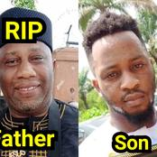 See Late Ernest Asuzu Only Child Who Held His Picture During His Burial (Photos)