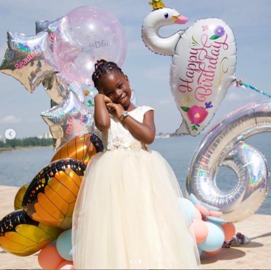Davido celebrates daughter Imade on her 6th birthday