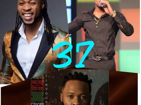 Popular Singer Flavour hits 37 years old as he celebrates with his 4.4M followers on Instagram
