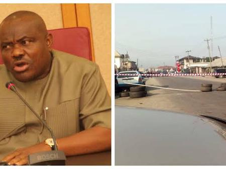 Governor Wike Father's Church Attacked with Explosives Suspected to be Dynamtes.