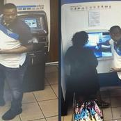 Becareful |ATM robbers around Pretoria and JHB caught on camera, here is their new trick