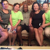 ANC Multi Billionaire, Ramaphosa's Brother-in-law, Spotted With Chinese 4 Ladies- Man Reveals