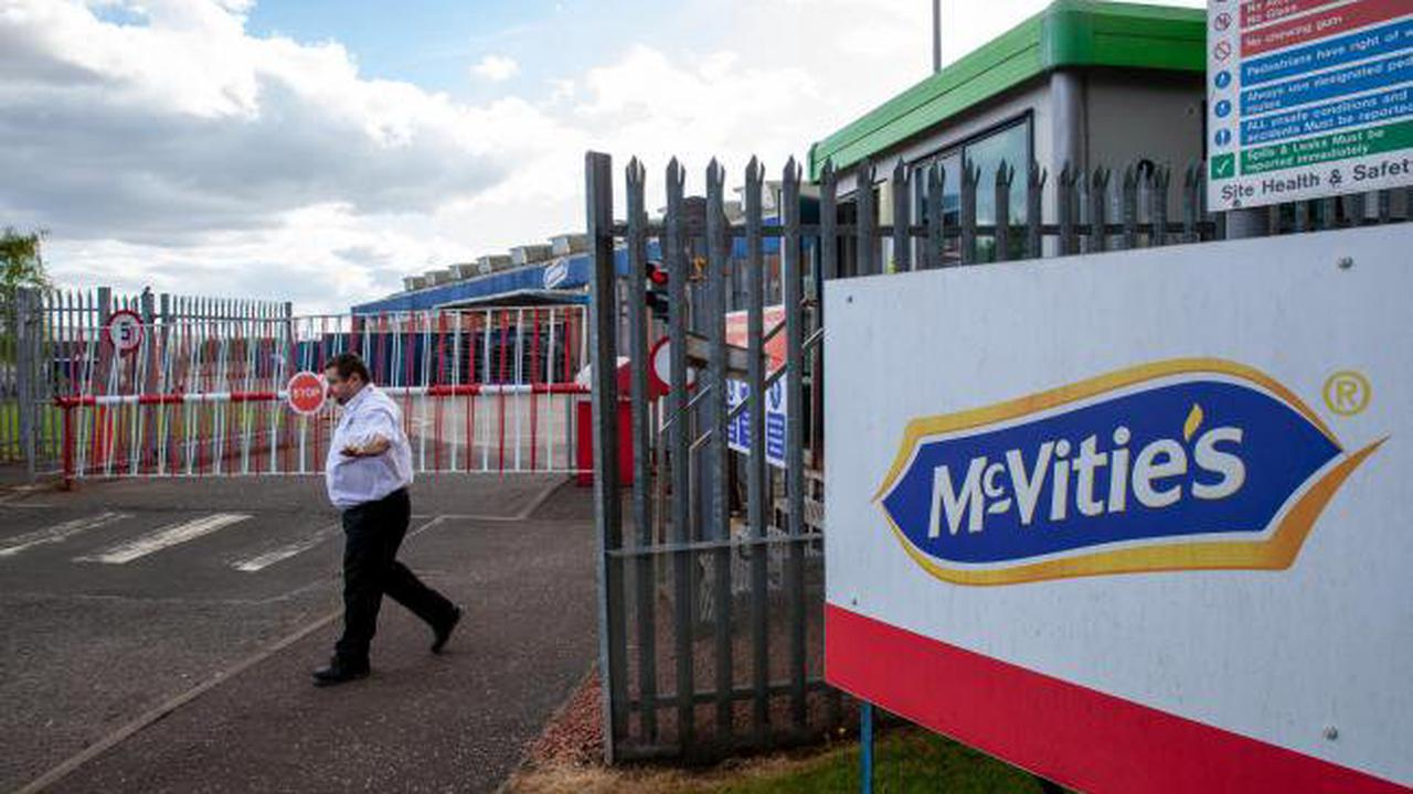 Unions slam McVitie's factory owners over risk to 500 jobs