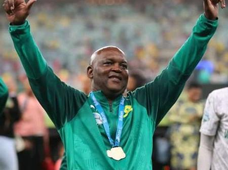 Pitso Mosimane with Al Ahly have qualified to the next round of CAF Champions League