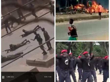 Eye witness revealed what led to ESN and Nigerian Army clash in Orlu, Imo and it wasn't herdsmen.