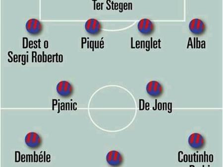 With this line-up, Barcelona will Destroy Atletico Madrid on Saturday.