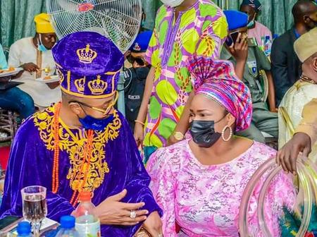 Read What Oluwo Of Iwo Said As He Attends A Birthday Party Of The Wife Of Osun State Governor