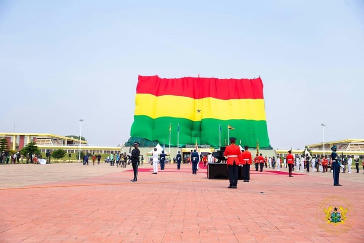 39a2e2eb06fa4dc88ac3d8049bde084d?quality=uhq&resize=720 - Independence Day: Ghanaians Did Not Understand The Black Net Around The Jubilee House; Until Today