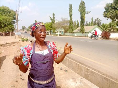 How residents react as Ortom commissions roads in Gboko