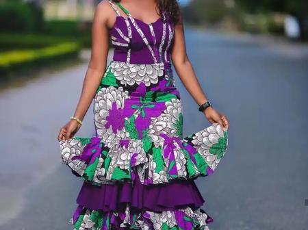 43 Elegant Ankara Dress Styles For Fashionable Ladies (See Photos)