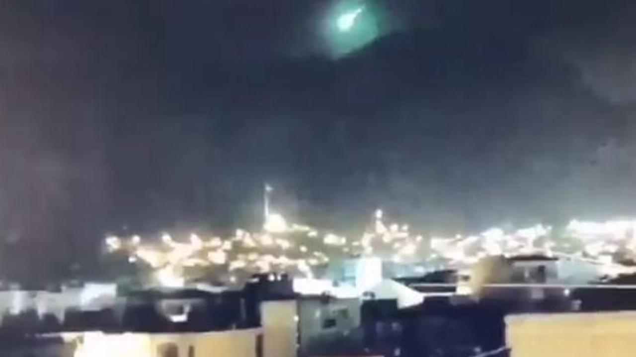Mysterious green meteor falls to Earth sparking wild 'doomsday' and UFO fears