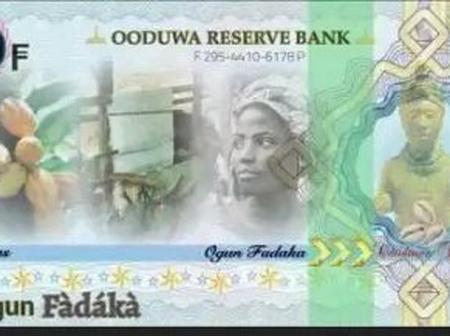 Check The Reactions Of People After The Sample Of The Oduduwa Republic Currency Was Posted Online