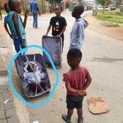 Really where is the mother of this child ? People were left in stitches after seeing this pic