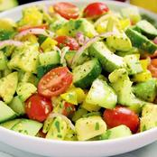 Avacado and tomato salad recipe