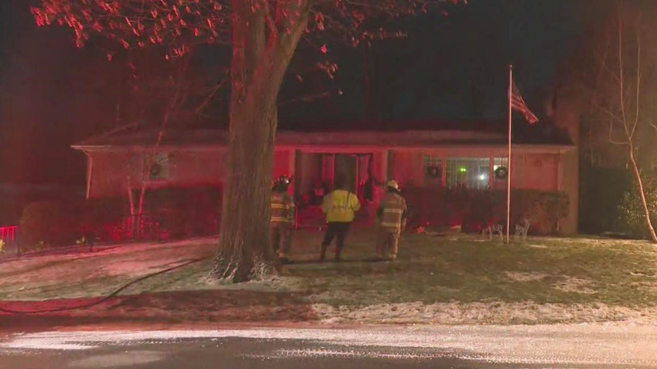 Chimney fire forces Hermitage family to relocate