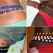 Reasons Behind Wearing Of Waist Beads By Women (Photos)