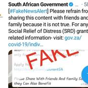 Fake news about covid19 support grant
