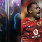 Would you believe what Itumeleng Khune did at groove? Here's a video