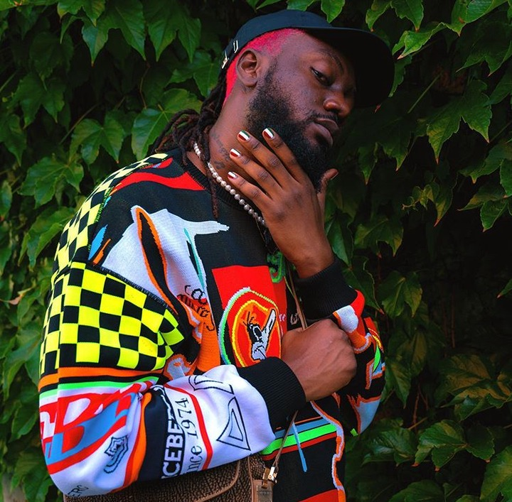 39eb6fa42d123d8e5e723942742fed98?quality=uhq&resize=720 - Pappy Kojo Causes Stir Online With His Painted Nails And Red Hair – Photos