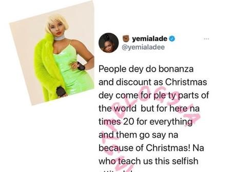 'Organise Free Show for us first'. Reaction as YemiAlade calls Nigerians