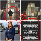 Hours After Donjazzy Flaunted His New Mansion, See What This Actress Said That Stirred Reactions