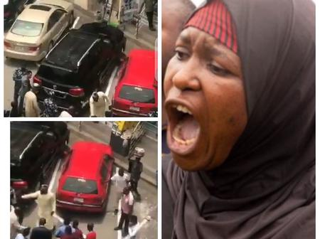 Hours After CCT Chairman, Danladi Umar Was Seen Assaulting A Security Guard, See What Aisha Said.