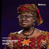 Apart from Her Election As DG, See Other Way Okonjo Iweala Has Promoted The Nigerian Brand in WTO