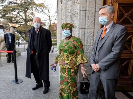 PHOTOS: Dr Ngozi Okonjo-Iweala's First Day As WTO Director-General