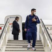 Checkout Lovely Photos Of Lionel Messi As He Arrives In Madrid For Spanish Tournament El Clasico