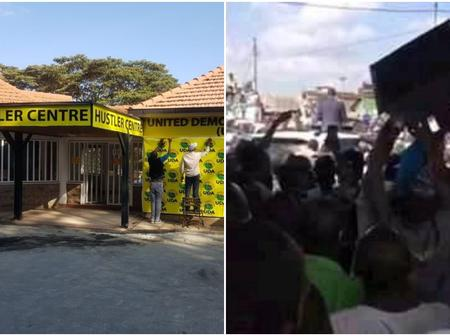 Rowdy youths storm UDA offices to demand payment for heckling Raila