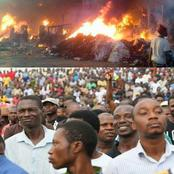 Nigerians have continued to react to the Fire Outbreak in Aso Rock, see what some of them said