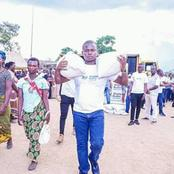 See prophet BUSHIRI gives away food parcel to Malawian residents