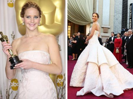 Check Out The Dresses These Celebrities Wore To The Oscars
