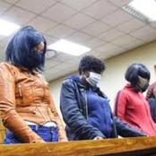 The Four Women Who Are Said To Be Prince Lethukuthula's Alleged Killers.