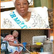 Marcory : à 82 ans, cette mémé vendeuse de d'alloco reçoit une distinction