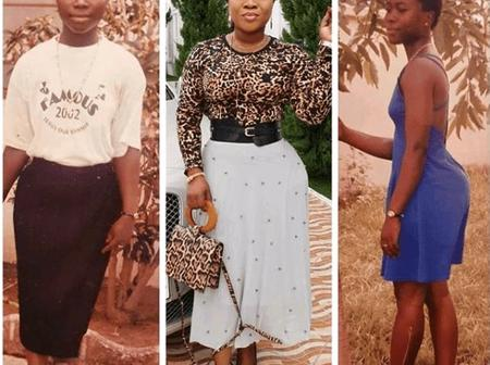 These Throwback Photos Of Obofour's Wife Have Scared Ghanaians - See Photos