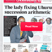 Sunday Review: The Lady Fixing Uhuru Succession Arithmetic Plan Unveiled And Other Stories