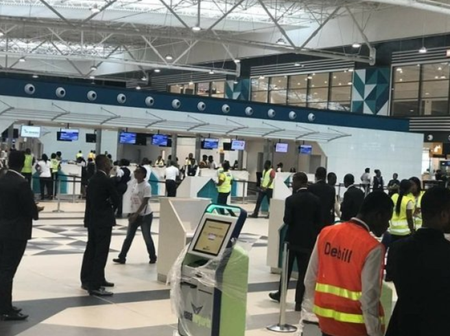 GACL workers on strike, Passengers are currently stranded at the Kotoka airport.
