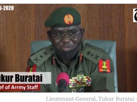 Nigerian Army Annouces Promotion of 421 of top officers.