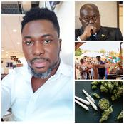 Forget These LGBT People And Legalize Weed, So That Boys Can Smoke- Kwame A-plus Advises Nana Addo.