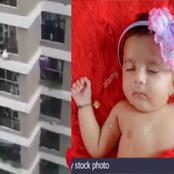 A Young Baby Fell From a 12-Storey Building But Survived, Checkout How it Happened