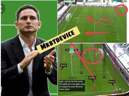 Lampard Is A Genius! -See The Tactical Analysis Of How Chelsea Broke Down Newcastle's Defence