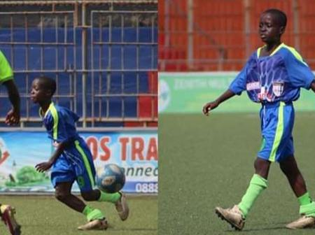 Young boy Makes professional debut age 11 years for 4th division club in top African League.