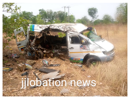S/R: 8 Dead In Sawla Gory Car Accident