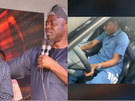Gov. Seyi Makinde buys N33.3M worth of brand new car for Taye Currency (PHOTOS, Video)