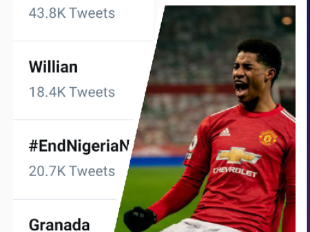 Marcus Rashford is trending on Twitter, see the reason behind his latest trend.