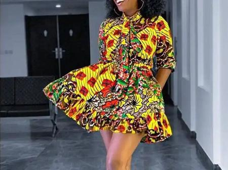 Young Ladies, Here Are 30 Adorable And Beautiful Short Gowns You Can Slay With This Week