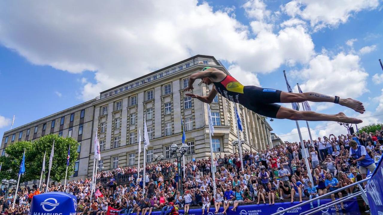 """Triathlon-Rückkehr in Hamburg: """"Der Star ist die Veranstaltung"""""""